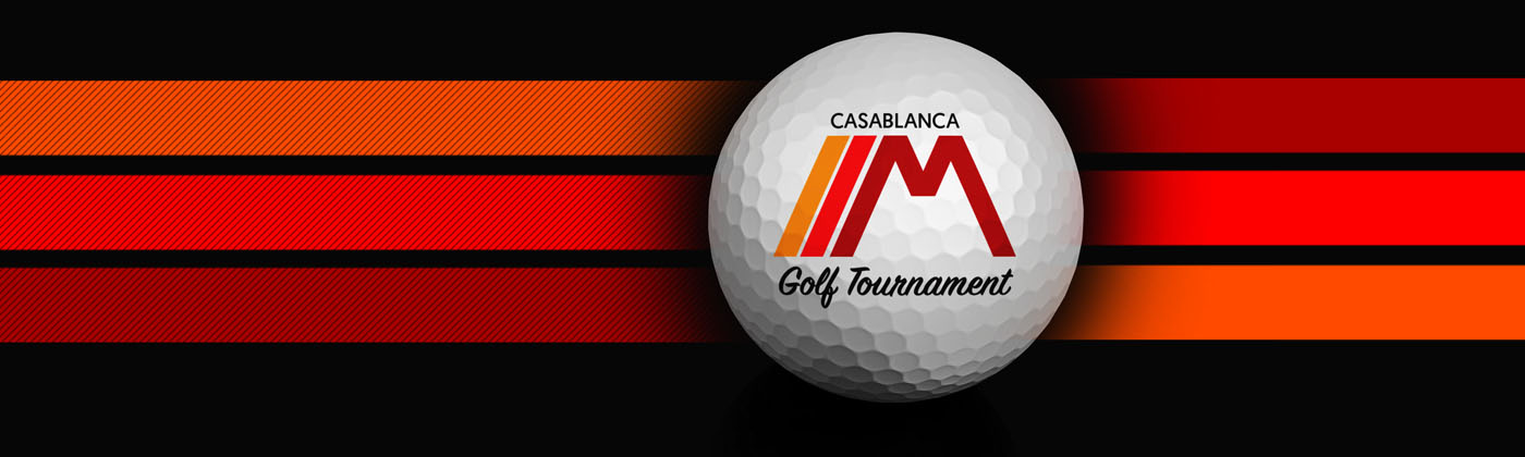 CasaBlanca Two Man Golf Tournament Header