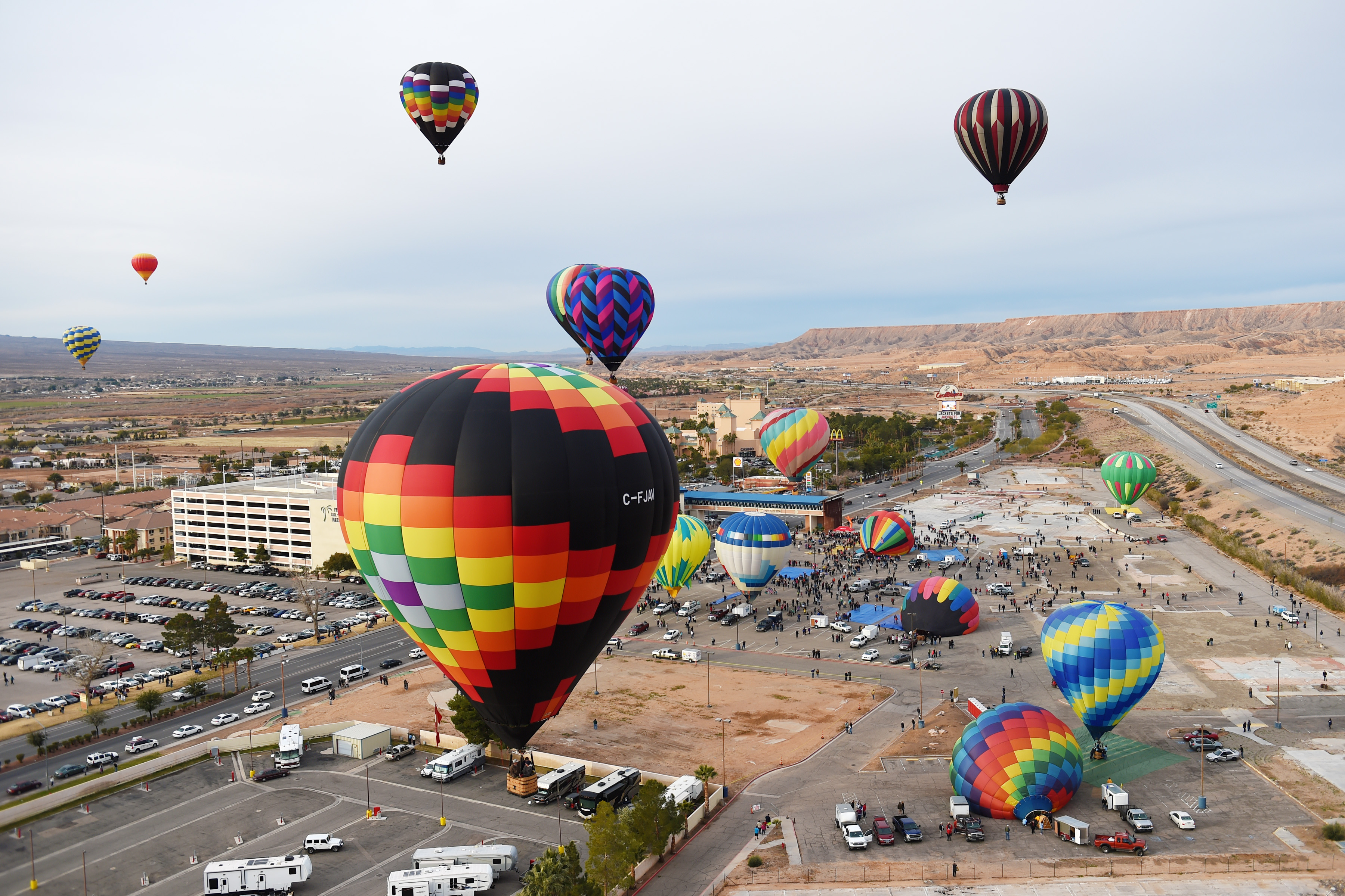 Hot Air Balloon Festival | Entertainment | CasaBlanca Resort and