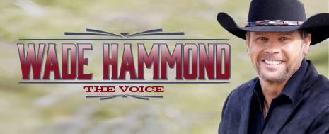 WADE HAMMOND <br> The Voice