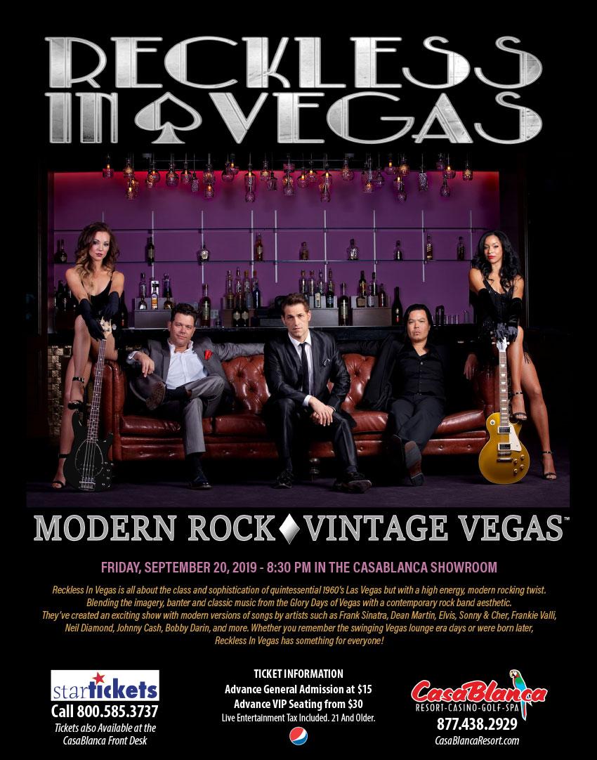 Entertainment | CasaBlanca Resort and Casino in Mesquite, NV